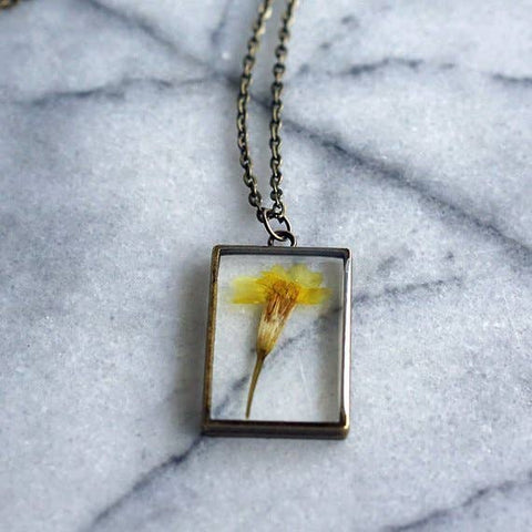 October Birth Flower Necklace