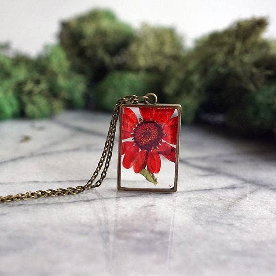 November Birth Flower Necklace