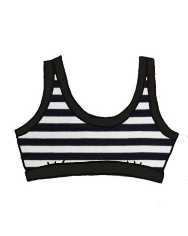 Stripe Thunderpants Bralette