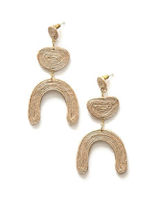 Jovial Jute Earrings