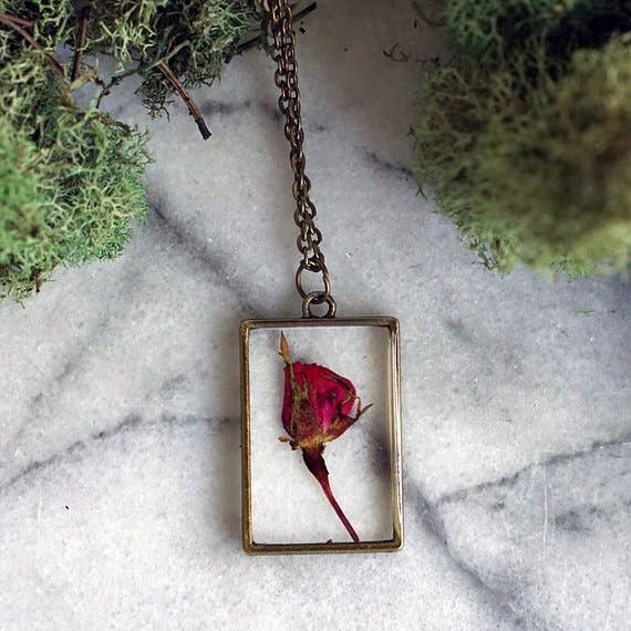 June Birth Flower Necklace