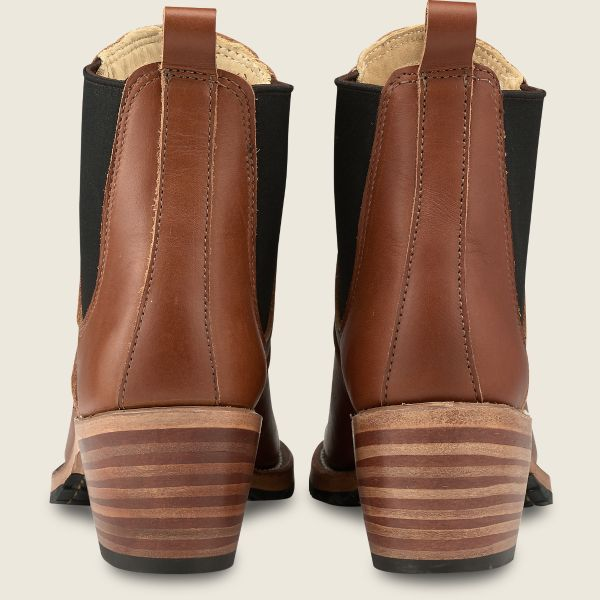 Harriet Boots in Pecan