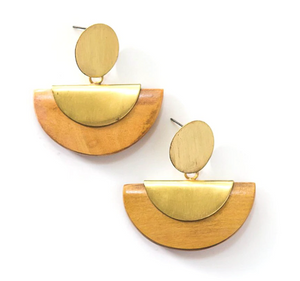 Chord Geo Earrings