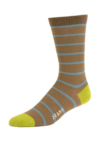 Men's Crew Sock - Martin Club Stripe