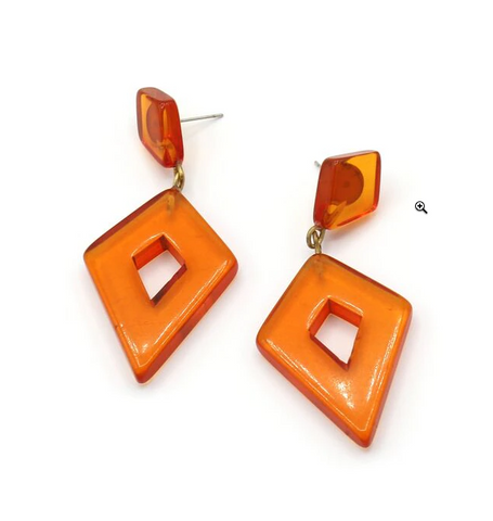 Clementine Rhombus Earrings