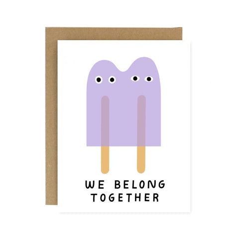 We Belong Together Greeting Card