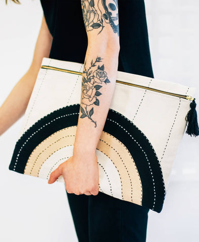 Oversized Pouch Clutch