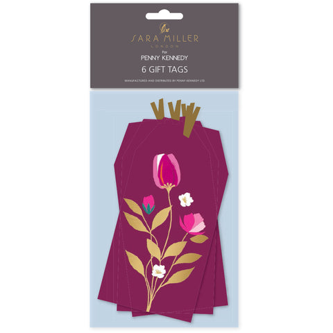 Tulip Gift Tag Pack of 6