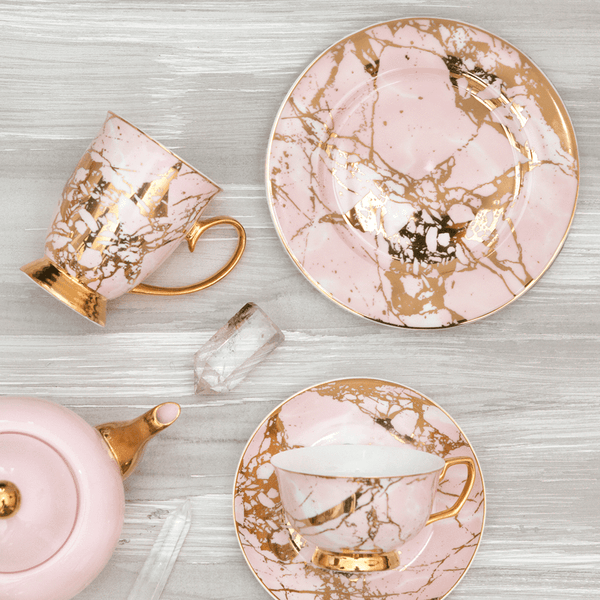 Rose Quartz - Side Plate