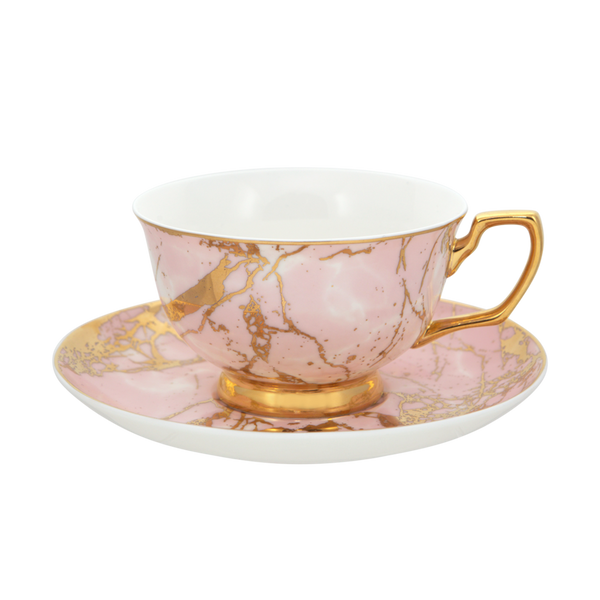 Rose Quartz - Teacup