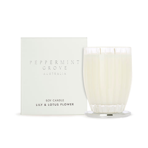 Candle 350g - Lily & Lotus Flower