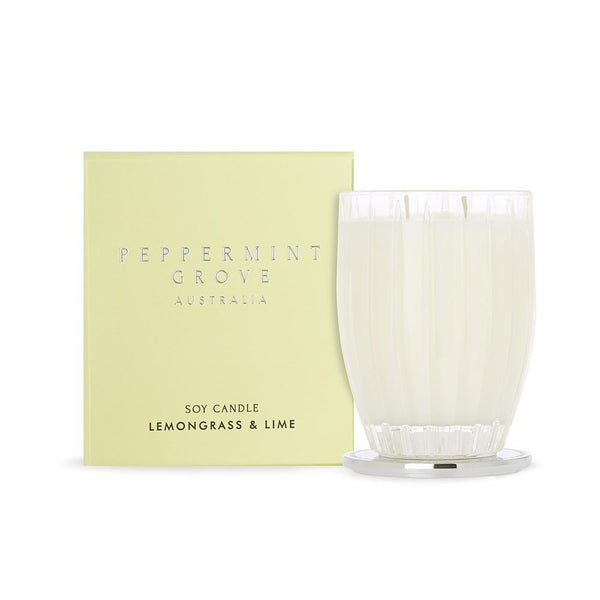 Candle 350g - Lemongrass & Lime