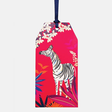 Zebra Gift Tag Pack of 6