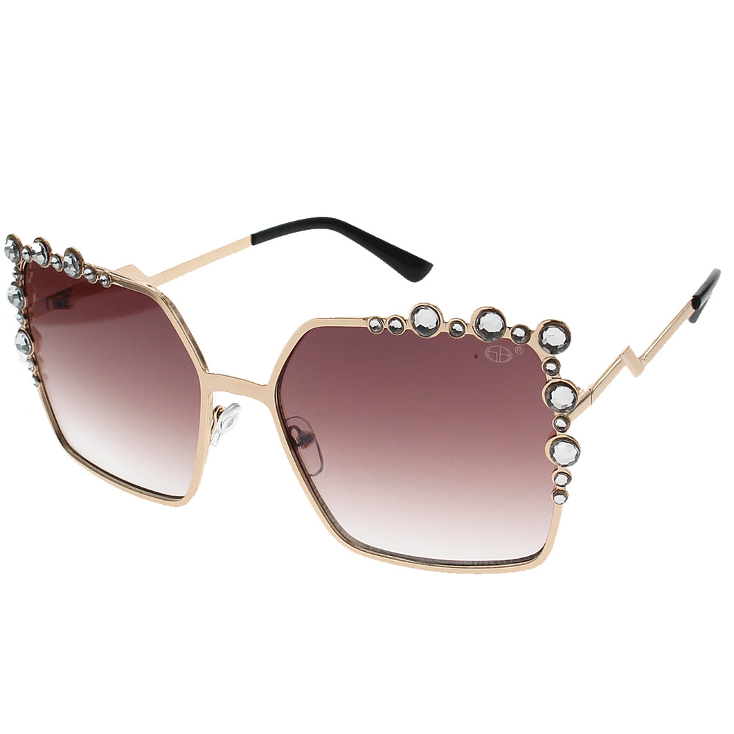 Cherie Crystal Sunglasses (3 colors)