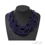 Seed Bead Collar Necklace (4 colors)