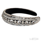 Bling, Bling Crystal Headbands (Silver)