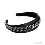 Wide Chain Link Headband (3 Colors)