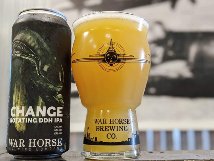 War Horse 16 oz Optic Pint - Three Brothers Wineries and Estates
