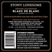 Load image into Gallery viewer, 2017 Blanc de Blanc - Three Brothers Wineries and Estates