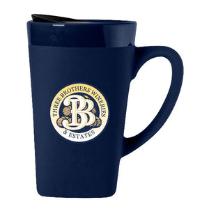 16 oz Ceramic Travel Mug - Three Brothers Wineries and Estates
