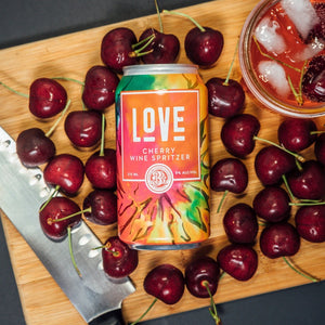 Love - Cherry Wine Spritzer 4-Pack - Three Brothers Wineries and Estates