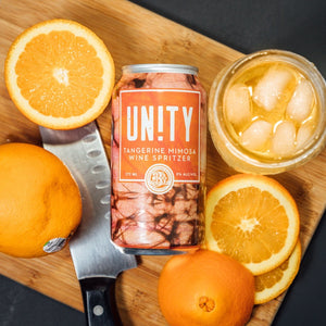 Unity - Tangerine Mimosa Wine Spritzer - Three Brothers Wineries and Estates