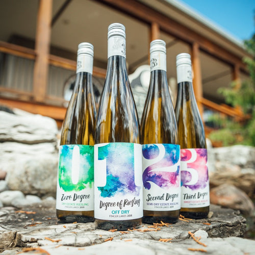 Four Degrees of Rieslings - Three Brothers Wineries and Estates