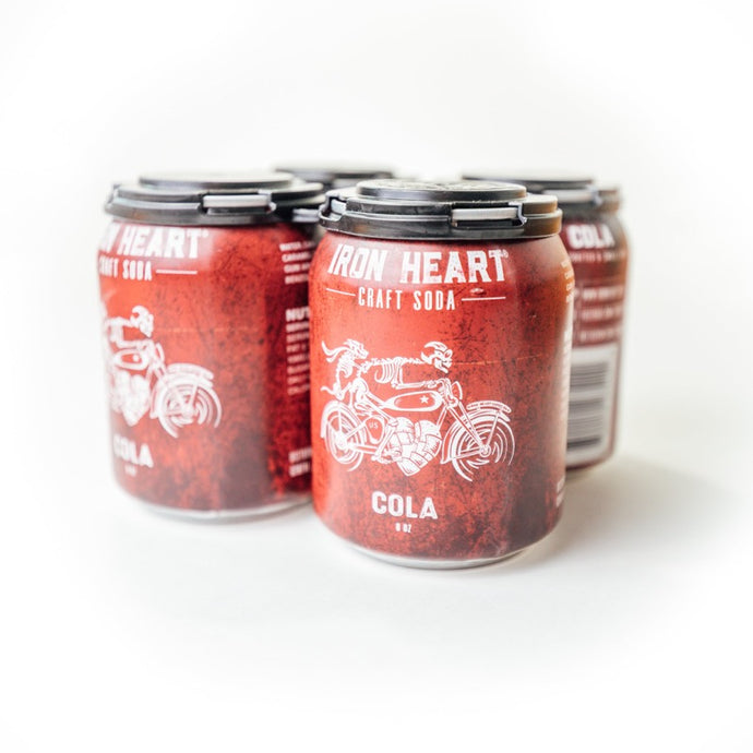 Iron Heart Cola 4-Pack - Three Brothers Wineries and Estates