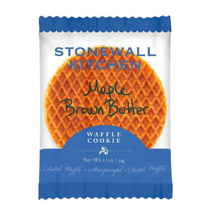 Maple Brown Butter Waffle Cookie - Three Brothers Wineries and Estates