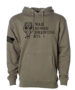 War Horse Flag Hoodie - Three Brothers Wineries and Estates