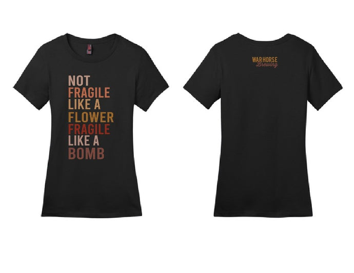 Fragile Like a Bomb T-Shirt - Three Brothers Wineries and Estates