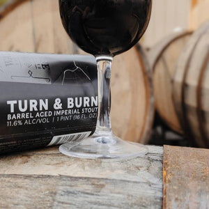 Turn & Burn Imperial Stout Single Can - Three Brothers Wineries and Estates