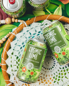 Cosmic Lime Wine Spritzer 4-pack - Three Brothers Wineries and Estates