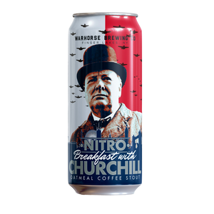Nitro Breakfast with Churchill Oatmeal Coffee Stout 4-Pack - Three Brothers Wineries and Estates