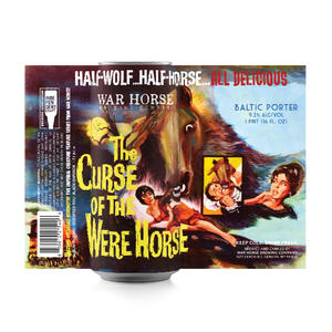 """Curse of the Were Horse"" Baltic Porter 4-Pack - Three Brothers Wineries and Estates"