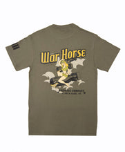 Load image into Gallery viewer, War Horse Lady Bomber T-shirt - Three Brothers Wineries and Estates