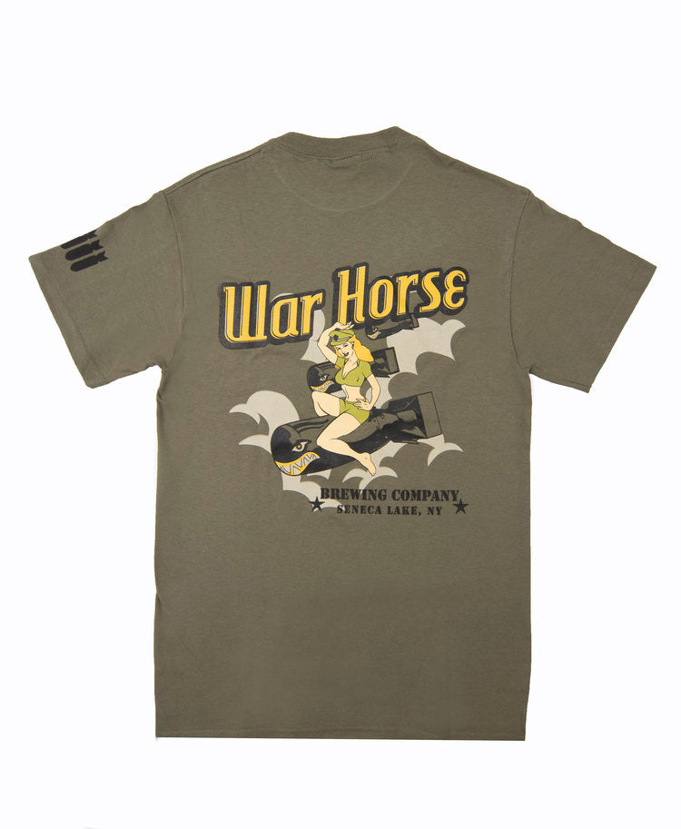 War Horse Lady Bomber Tee - Three Brothers Wineries and Estates
