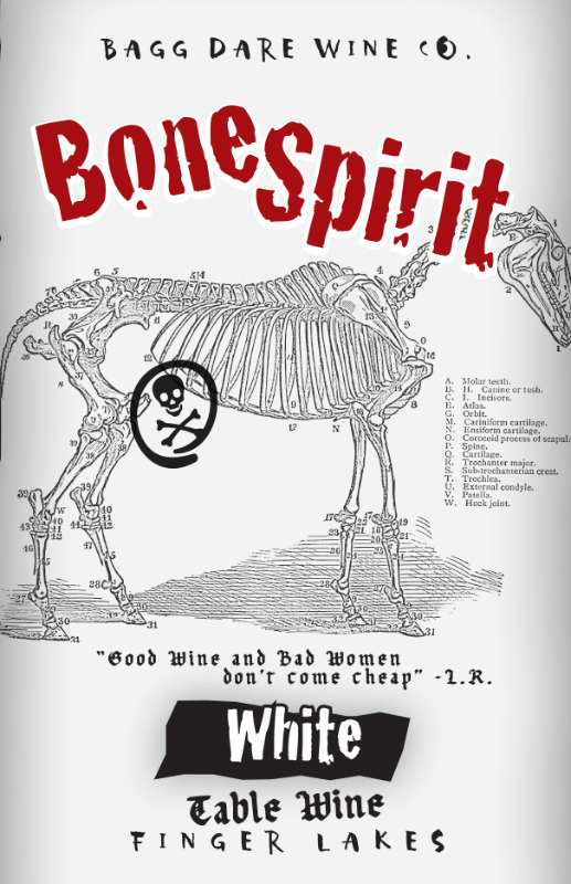 Mini Bone Spirit (187ml) - Three Brothers Wineries and Estates