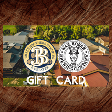 Load image into Gallery viewer, Electronic Gift Card - Three Brothers Wineries and Estates