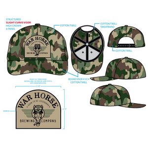War Horse Pukka Hat - Three Brothers Wineries and Estates