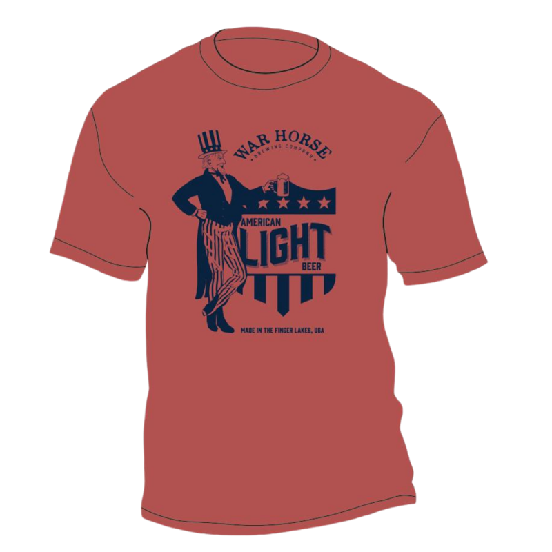 War Horse American Light T-Shirt - Three Brothers Wineries and Estates