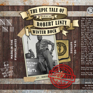 Bourbon Barrel Aged Winter Bock Single Can - Three Brothers Wineries and Estates