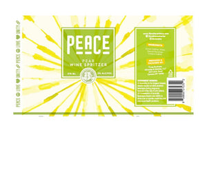 Peace Pear Wine Spritzer 4-Pack - Three Brothers Wineries and Estates