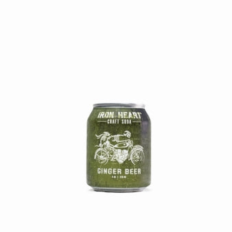 Iron Heart Ginger Beer (non-alcoholic) - Three Brothers Wineries and Estates