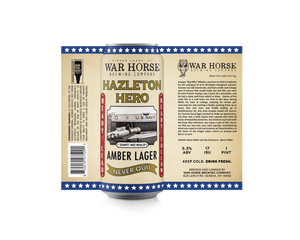 Hazleton Hero Amber Lager 4Pack - Three Brothers Wineries and Estates