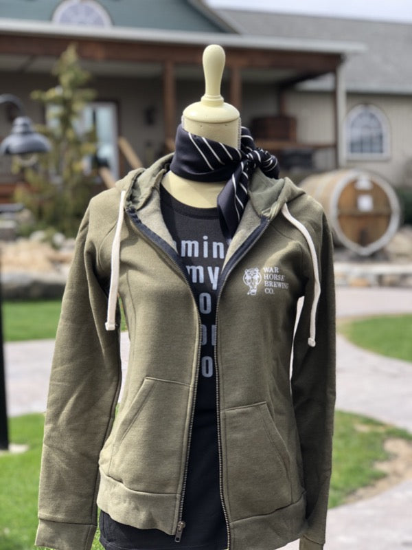 War Horse Ladies Full Zip - Three Brothers Wineries and Estates
