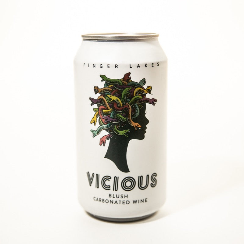 Vicious Sparkling Wine - Single Can - Three Brothers Wineries and Estates