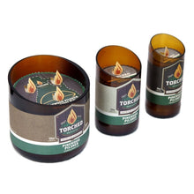 Load image into Gallery viewer, Torched Beer Bottle Candle - Three Brothers Wineries and Estates