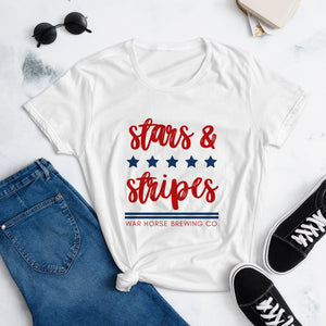 Stars & Stripes T-Shirt - Three Brothers Wineries and Estates
