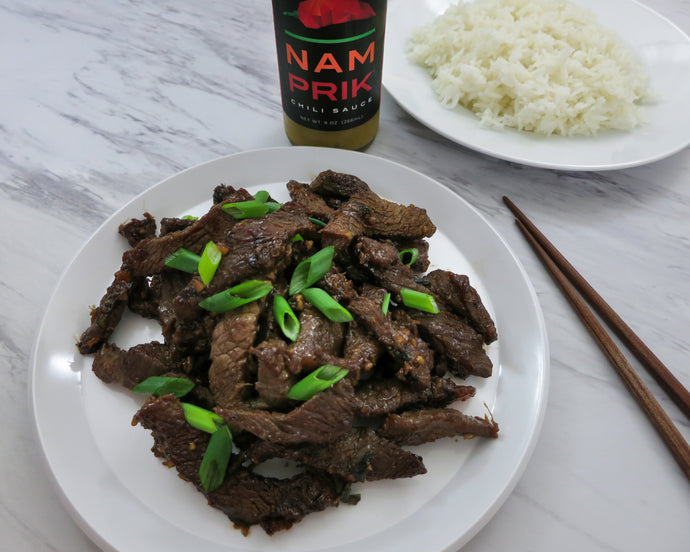 Spiced Up Beef Bulgogi
